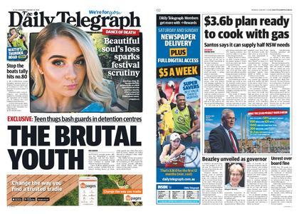 The Daily Telegraph (Sydney) – January 14, 2019