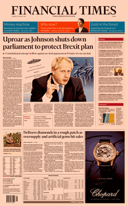 Financial Times Europe – 29 August 2019