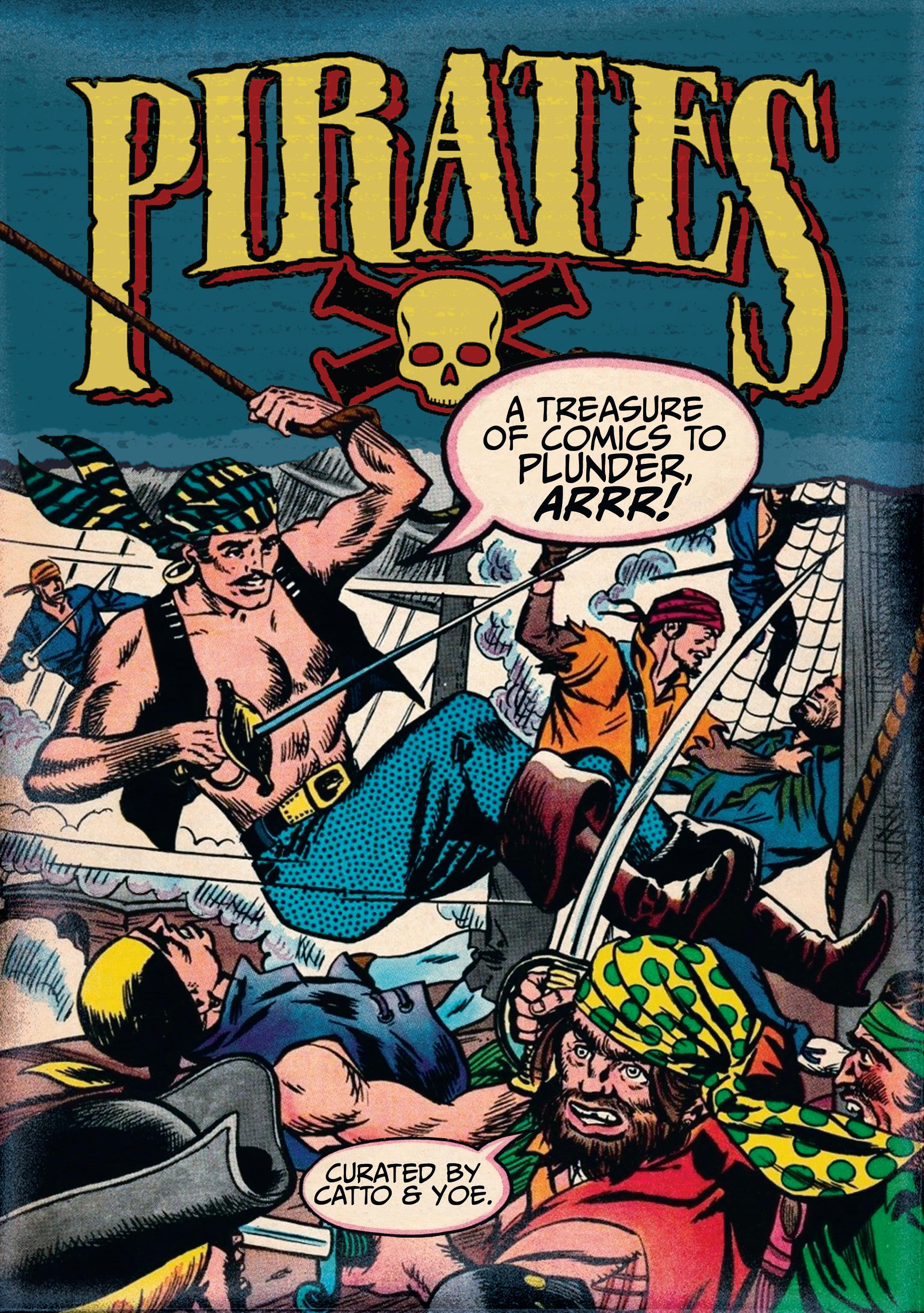Pirates-A Treasure of Comics to Plunder, Arrr! 2020 Digital Bean