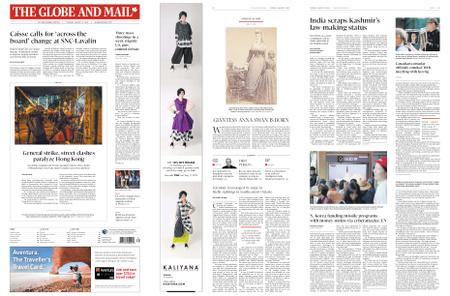 The Globe and Mail – August 06, 2019