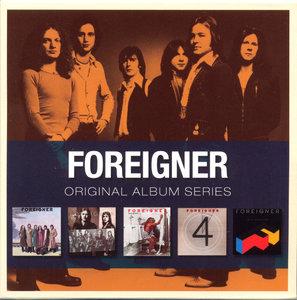 Foreigner - Original Album Series (2009) 5 CD Box Set [Re-Up]