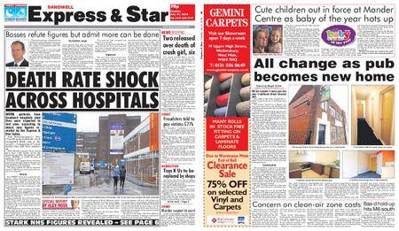 Express and Star Sandwell Edition – July 31, 2018
