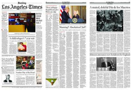 Los Angeles Times – November 01, 2020