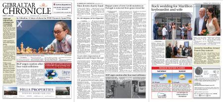 Gibraltar Chronicle – 04 June 2021