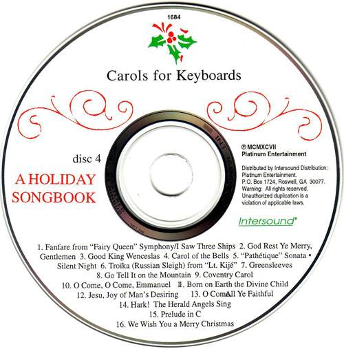 VA - Carols For Keyboards: A Holiday Songbook (1997) {Intersound} **[RE-UP]**