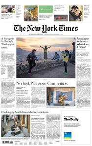 International New York Times - 1-2 December 2018