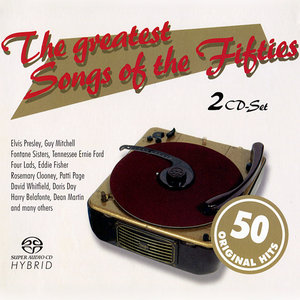 V.A. - The Greatest Songs Of The Fifties (2x SACD, 2006) MCH PS3 ISO + Hi-Res FLAC