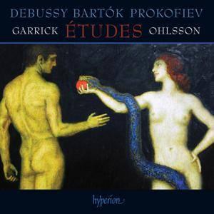 Garrick Ohlsson - Etudes: Debussy, Bartok, Prokofiev (2015)