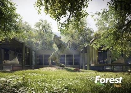 Forest Pack Pro 6.1.5 for 3ds Max 2018-2019