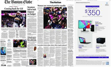 The Boston Globe – January 22, 2018