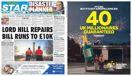 Shropshire Star Shrewsbury Edition – March 01, 2019