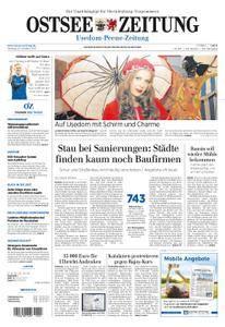 Ostsee Zeitung Wolgast - 23. Oktober 2017