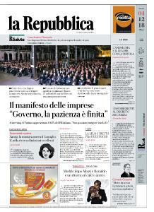 la Repubblica - 4 Dicembre 2018