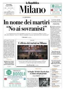 la Repubblica Milano - 11 Agosto 2019