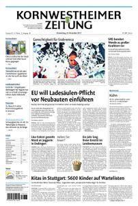 Kornwestheimer Zeitung - 23. November 2017