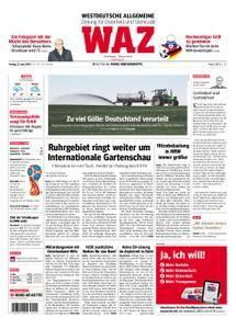WAZ Westdeutsche Allgemeine Zeitung Oberhausen-Sterkrade - 22. Juni 2018