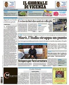 Il Giornale Di Vicenza - 14 Gennaio 2016
