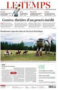 Le Temps - 13 août 2019