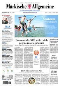Märkische Allgemeine Luckenwalder Rundschau - 30. Mai 2018