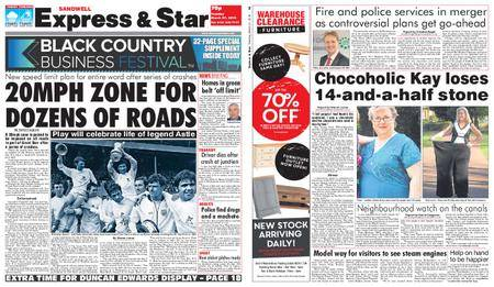 Express and Star Sandwell Edition – March 27, 2018