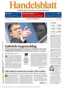 Handelsblatt - 05. September 2016