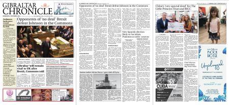 Gibraltar Chronicle – 04 September 2019