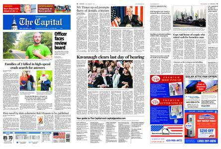 The Capital – September 07, 2018