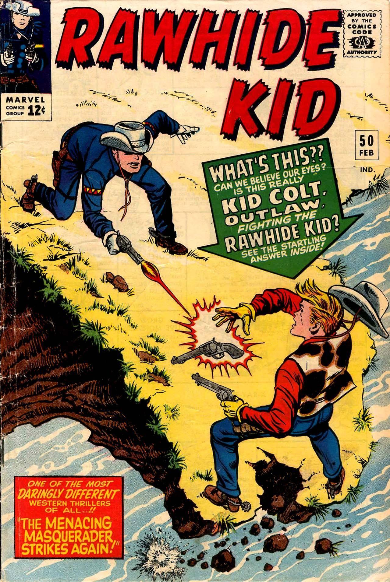 Rawhide Kid v1 050 1966