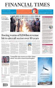 Financial Times Europe - October 7, 2020