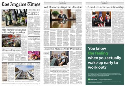 Los Angeles Times – March 18, 2021