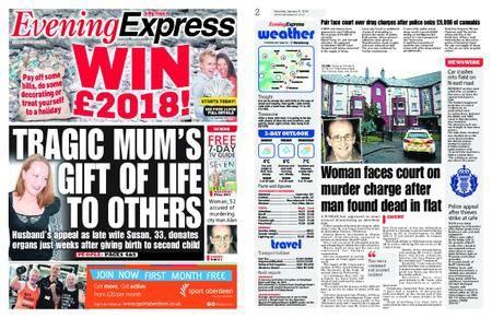 Evening Express – January 06, 2018