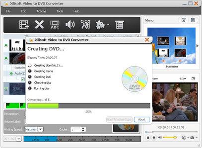 Xilisoft Video to DVD Converter 6.2.3.0622 + Rus