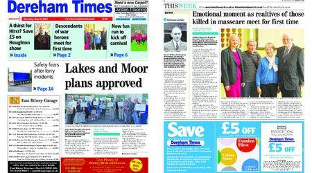 Dereham Times – May 10, 2018