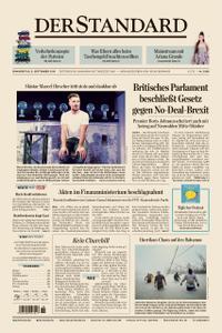 Der Standard – 05. September 2019