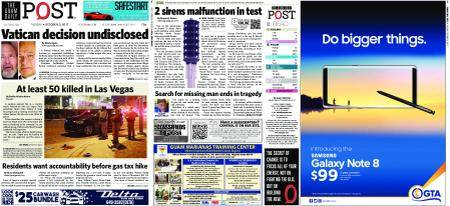 The Guam Daily Post – October 03, 2017