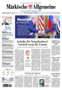 Märkische Allgemeine Luckenwalder Rundschau - 17. Juli 2018