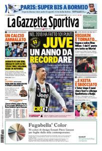 La Gazzetta dello Sport Roma – 30 dicembre 2018