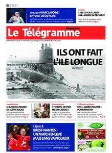 Le Télégramme Brest Abers Iroise – 24 novembre 2019