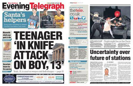 Evening Telegraph First Edition – October 25, 2017