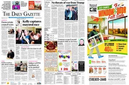 The Daily Gazette – November 08, 2017