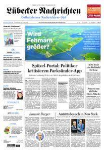 Lübecker Nachrichten Ostholstein Süd - 29. März 2018