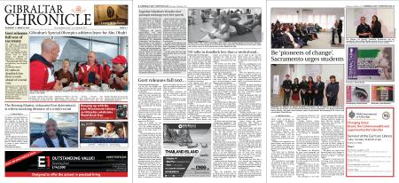Gibraltar Chronicle – 07 March 2019