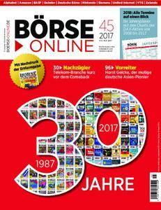 Börse Online - 09. November 2017