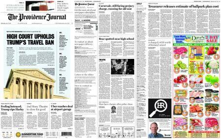 The Providence Journal – June 27, 2018