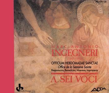 Marc-Antonio Ingegneri - Officium Hebdomadae Sanctae - A Sei Voci (1990) {2CD Set Adda 581129~130}