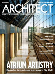 Middle East Architect Magazine August 2011