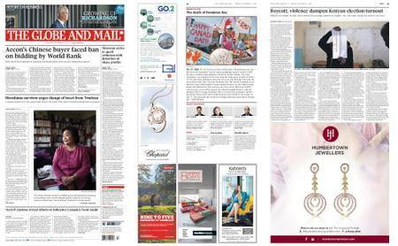 The Globe and Mail – October 27, 2017