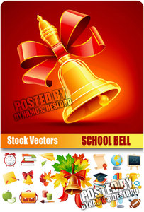 School Bell - Stock Vectors