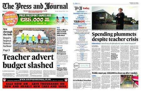 The Press and Journal Moray – January 09, 2018
