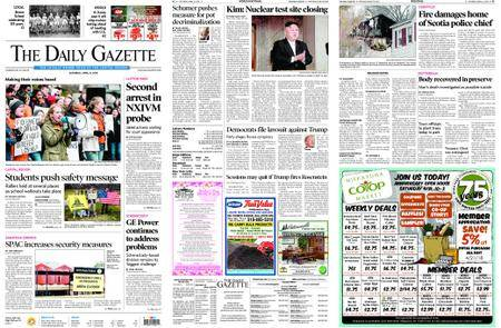 The Daily Gazette – April 21, 2018